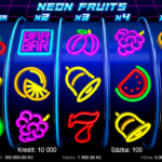 Neon Fruits | Test automatu online